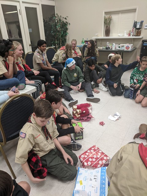 2019-12-16 Troop holiday party
