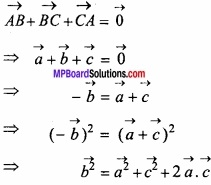 MP Board Class 12th Maths Important Questions Chapter 10 सदिश बीजगणित img 49a