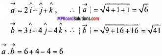 MP Board Class 12th Maths Important Questions Chapter 10 सदिश बीजगणित img 14