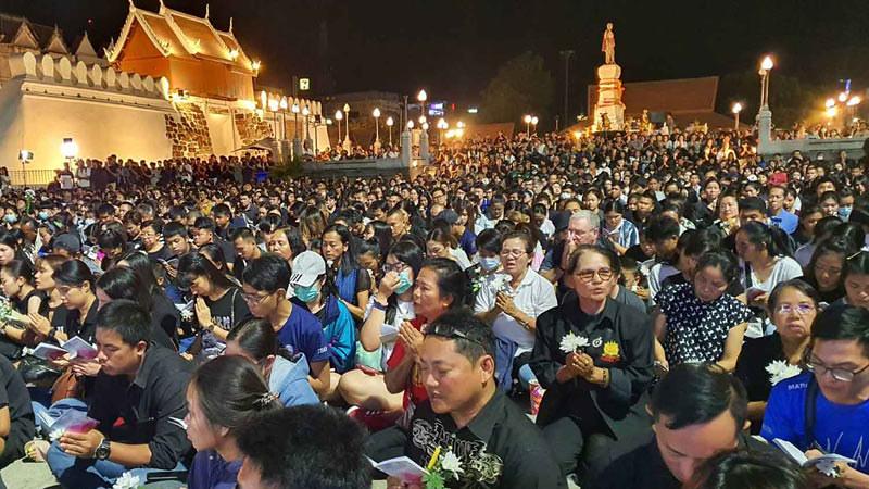 Thailand Rayakan Magha Puja 2563 di Tengah Wabah Corona dan Tragedi Penembakan