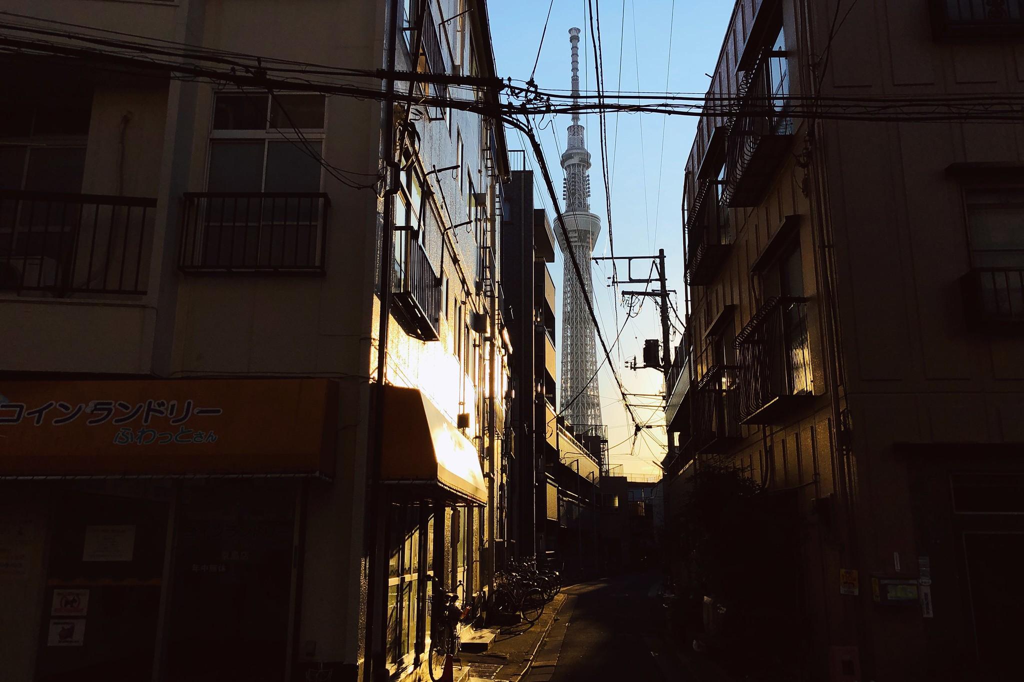 Tokyo Skytree - 2020 #shotoniphone #iPhoneX #Halide  #RNIFilms #FujiAstia100F #Tokyo #Japan