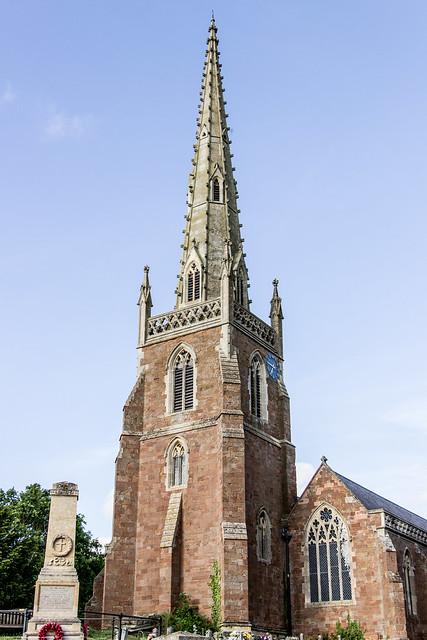 Church of All Saints, Braunston, England