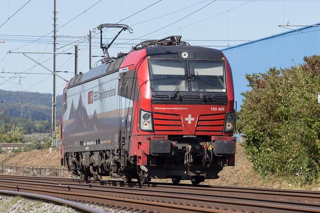 SBB Cargo 193 465 Itingen