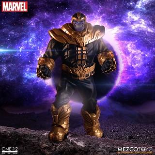 重量級規格打造,瘋狂泰坦現身! MEZCO ONE:12 COLLECTIVE 系列 MARVEL【薩諾斯】Thanos 1/12 比例可動人偶