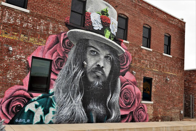 Leon Russell by Jeks, Tulsa Ok