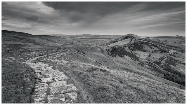 The Great Ridge. Mam Tor, Peak District(2)