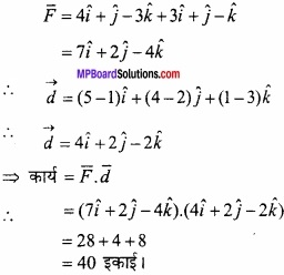 MP Board Class 12th Maths Important Questions Chapter 10 सदिश बीजगणित img 62