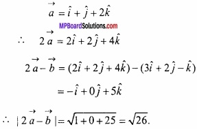 MP Board Class 12th Maths Important Questions Chapter 10 सदिश बीजगणित img 11