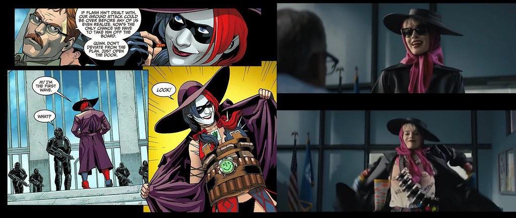 《猛禽小隊:小丑女大解放》彩蛋、致敬和原作對比分析