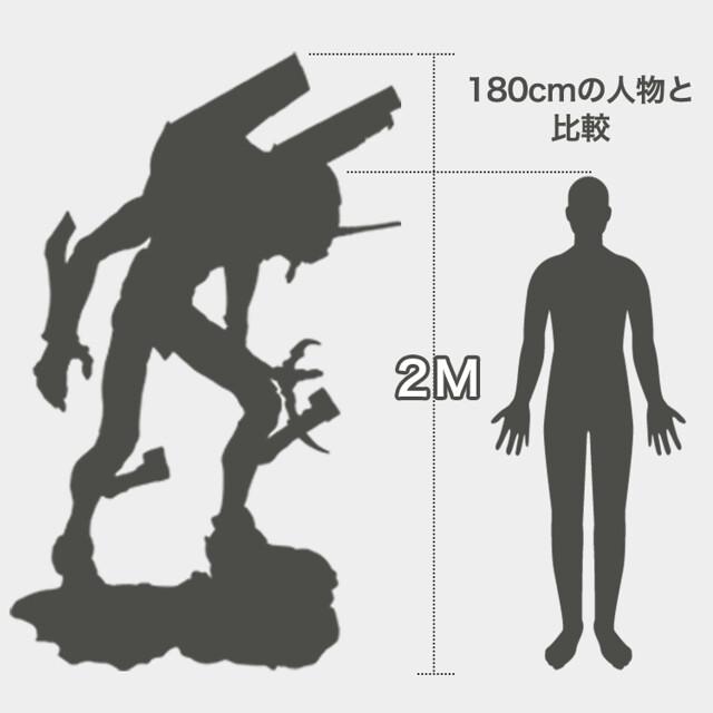 更加驚人的 2 公尺版本登場!海洋堂《福音戰士新劇場版》ART MASTER 3D  EVANGELION 初號機 2m版本(エヴァンゲリオン初号機  2mサイズ)