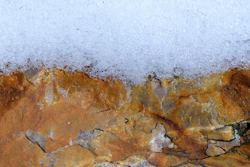 eechillington nikond7500 viewnxi mountolympus hiking rock snow utah texture pattern nature