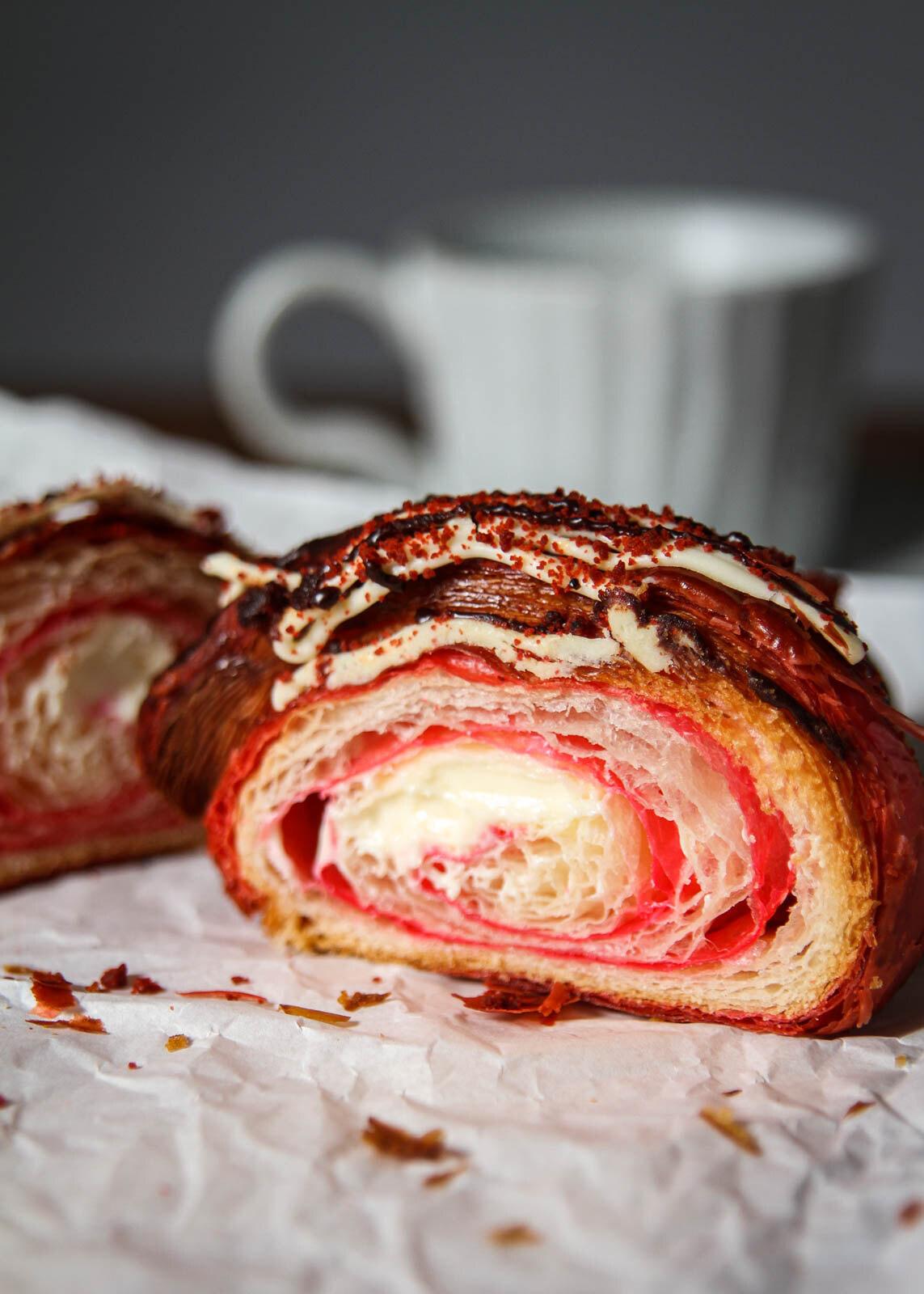 Konditori Red velvet croissant