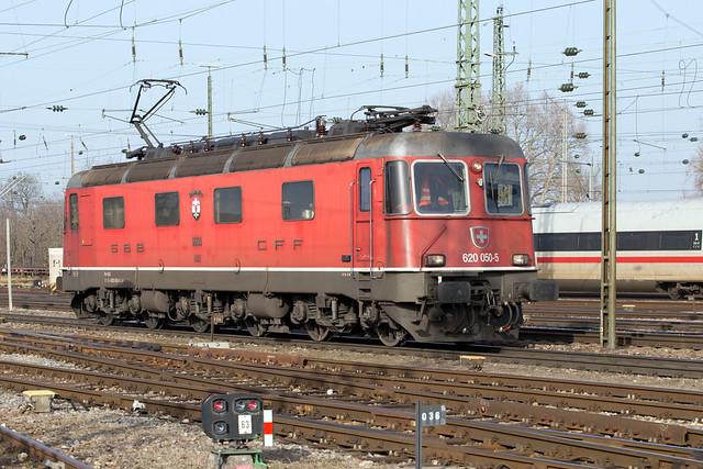 SBB Re 6/6 620 050 Basel Badischer Bahnhof