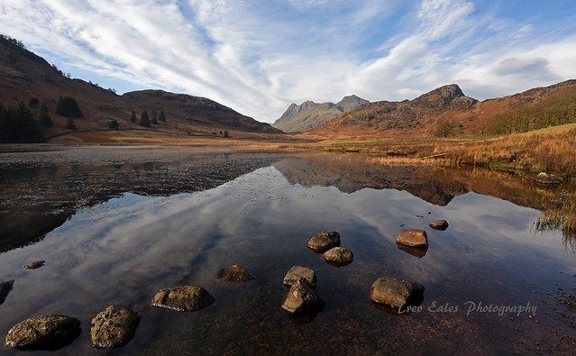 Picture postcard reflections: Blea Tarn.