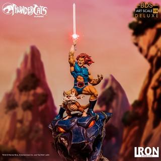 高舉神秘之劍,霹靂貓王駕到! Iron Studios Battle Diorama 系列《霹靂貓》「獅貓&怪貓」、「小琪貓&小凱貓」1/10 比例全身雕像