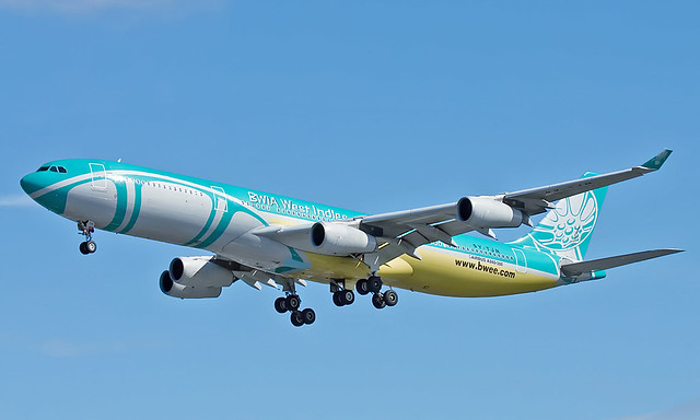 Airbus A340-313 9Y-TJN