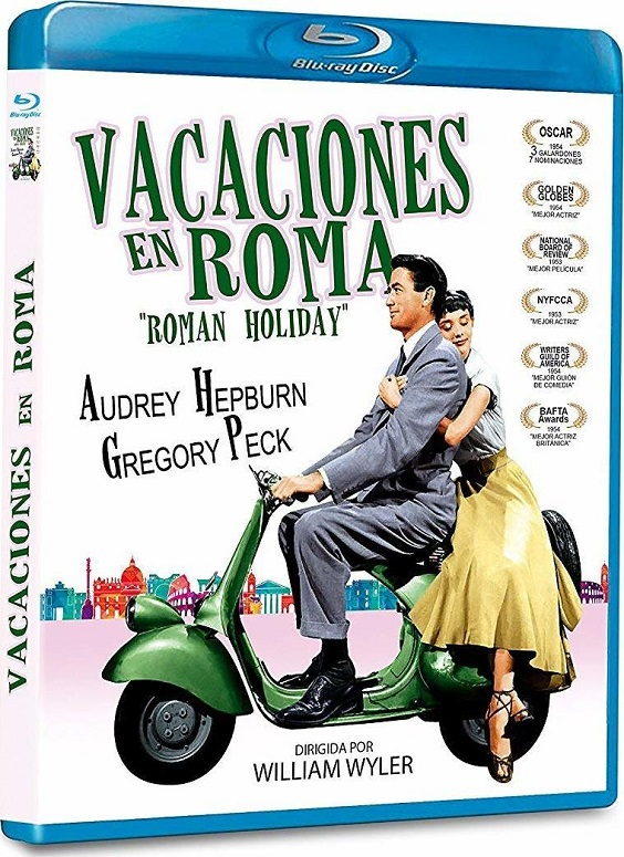 Roman Holiday (1953) Audio Latino Web-Dl 720p Dual Latino EN