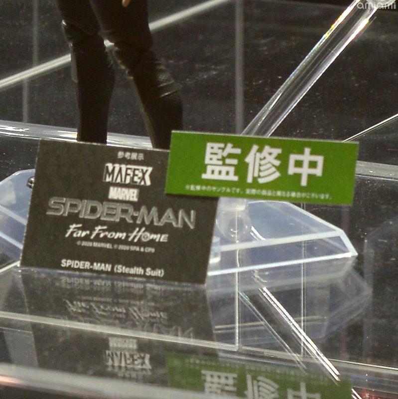 【WF2020冬】MAFEX《黑暗騎士歸來》小丑、《蜘蛛人:離家日》蜘蛛人 (潛行戰衣) 可動人偶試作品公開!