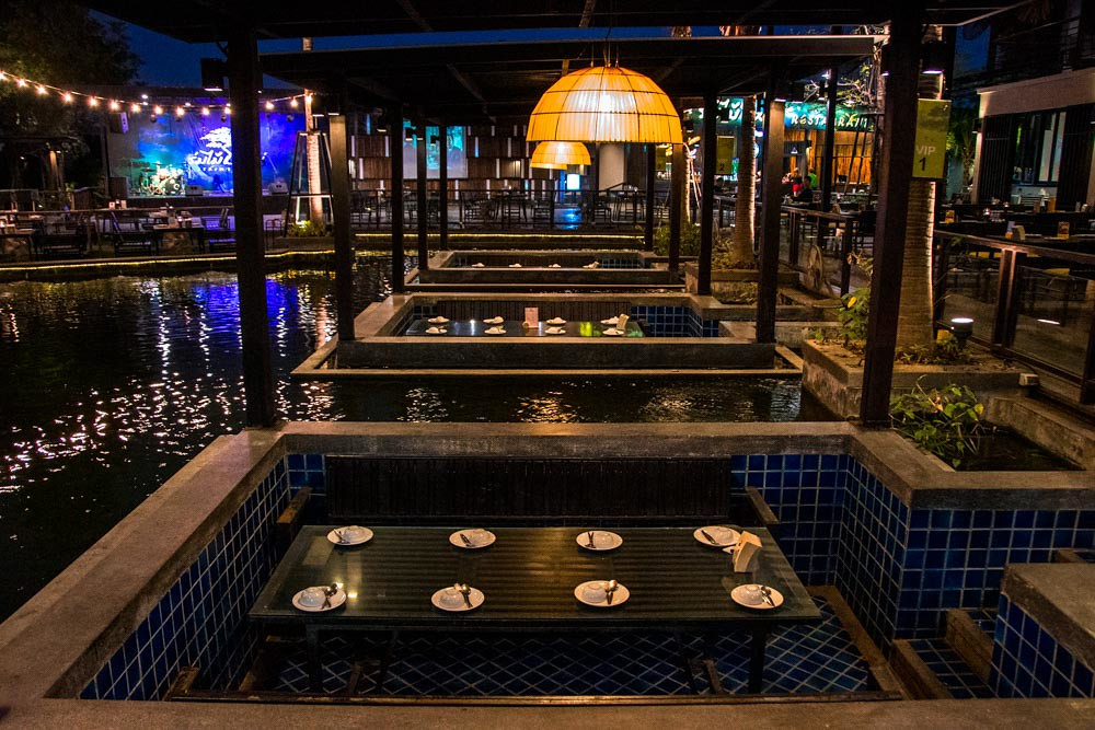 Ресторан в Пхрэ