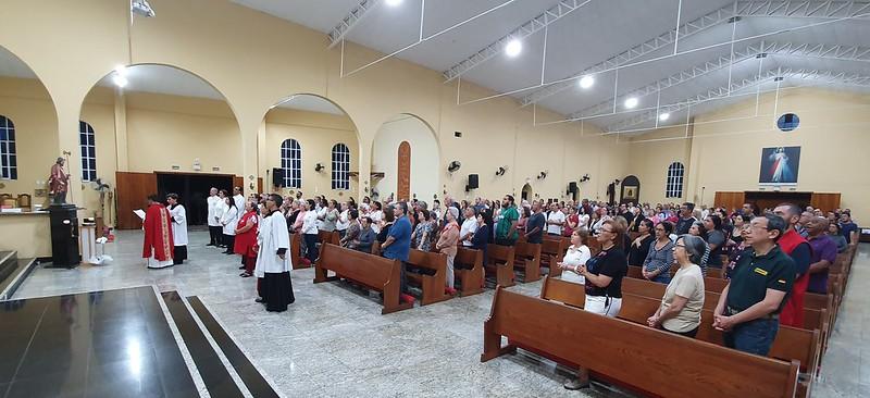 1º Dia da Novena da Fidelidade em comemoração aos 50 anos do Santuário São Judas Tadeu