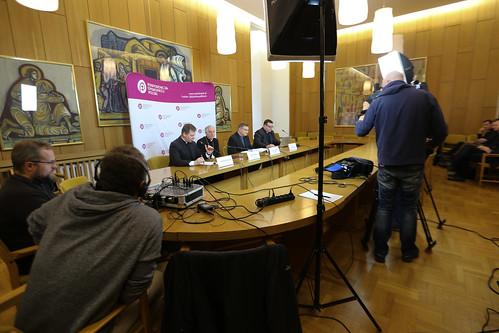 Briefing prasowy dotyczący Dekretu ogólnego KEP o przeprowadzaniu rozmów kanoniczno-duszpasterskich z narzeczonymi - Warszawa, 10 II 2020 r.