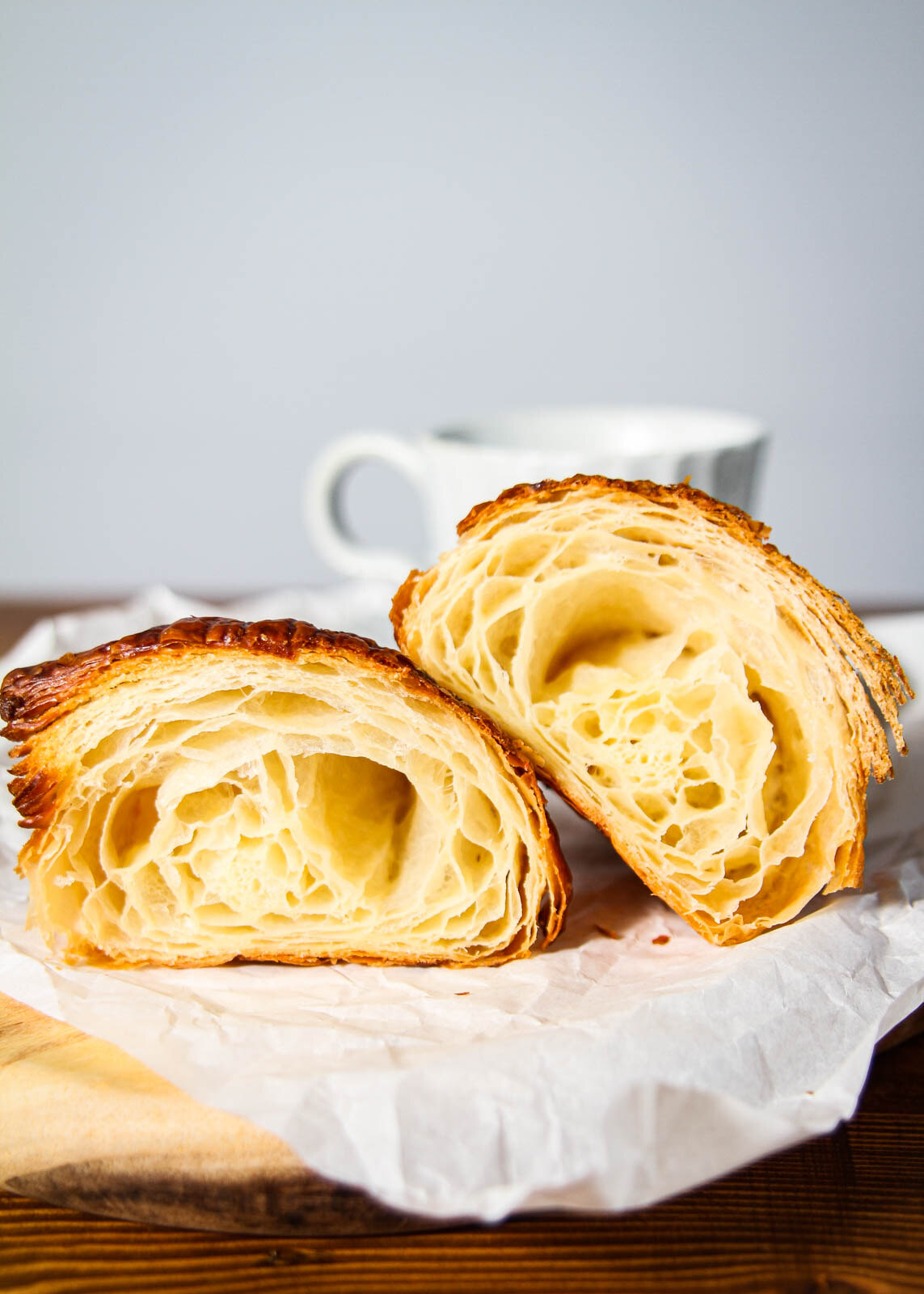 Konditori Plain croissant Portrait