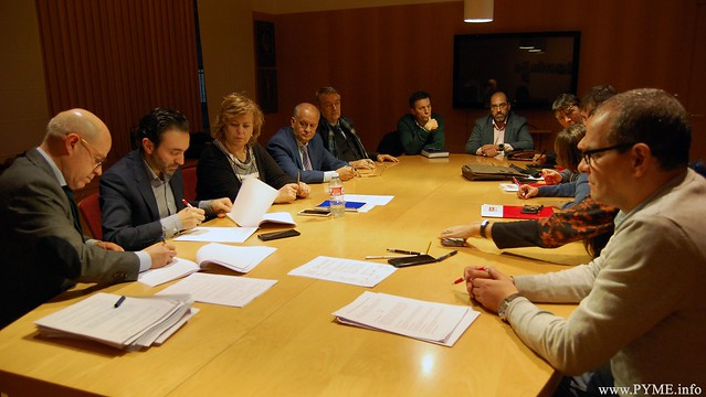 Los empresarios de la sanidad privada de Salamanca firman el I Convenio Colectivo de la Sanidad Privada 2020-2023.