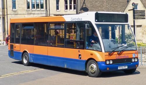 KX55 PFF 'Centrebus' No. 230. Optare Solo M850 /2 on Dennis Basford's railsroadsrunways.blogspot.co.uk'