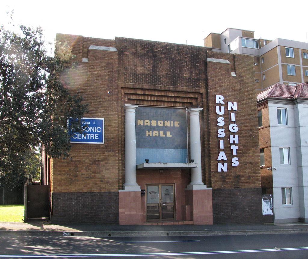 Masonic Hall, Bondi, Sydney, NSW.