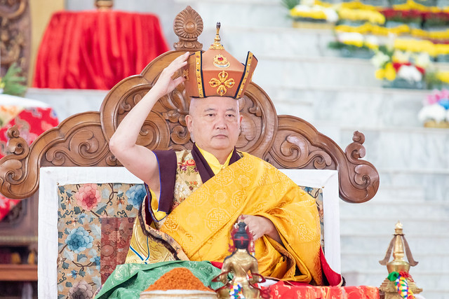 20200209_Red Crown Ceremony & Long Life Empowerment by Gyaltsab Rinpoche