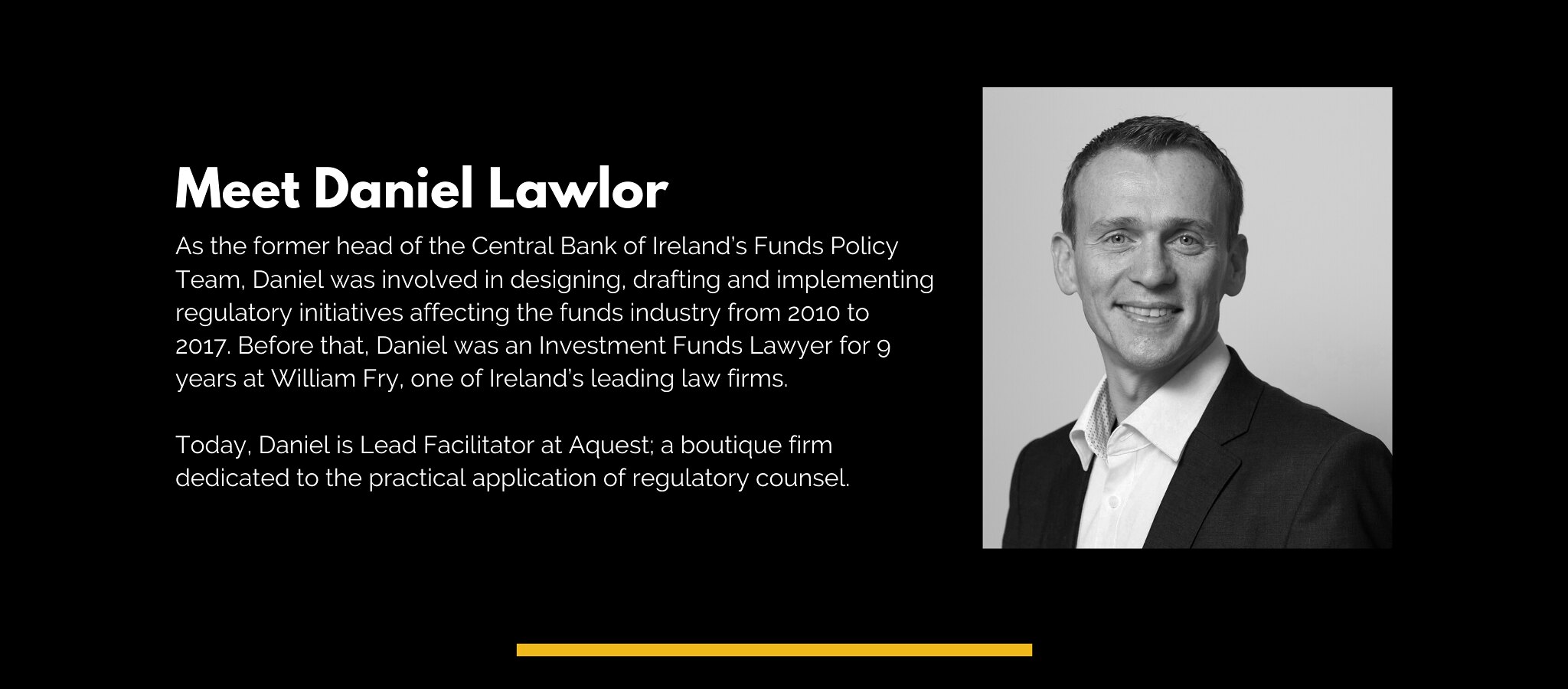 Meet Daniel Lawlor