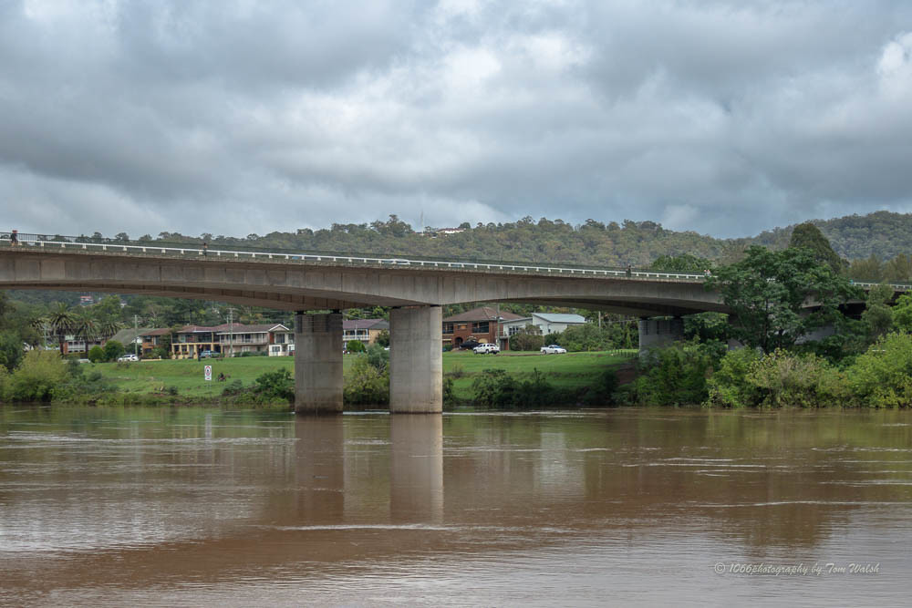 Nepean River in flood...