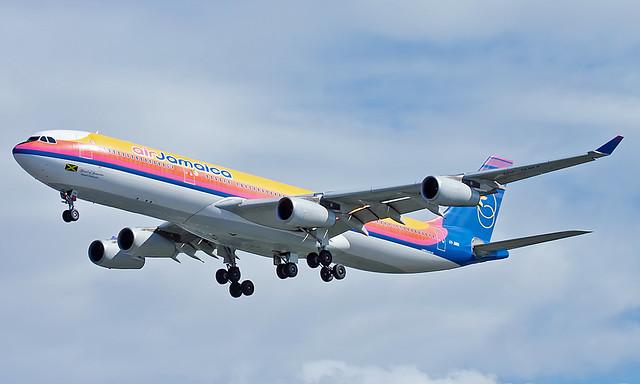Airbus A340-313X 6Y-JMM