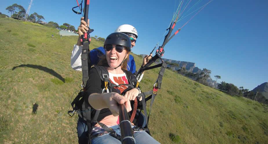 Paragliden in Kaapstad | Mooistestedentrips.nl