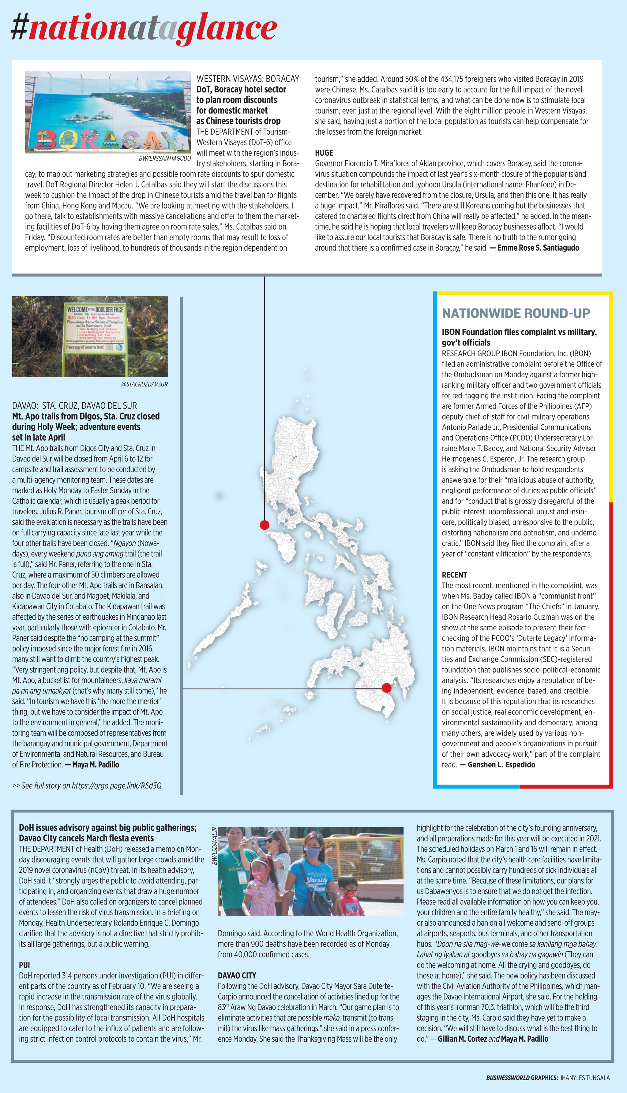 Nation at a Glance — (02/11/20)