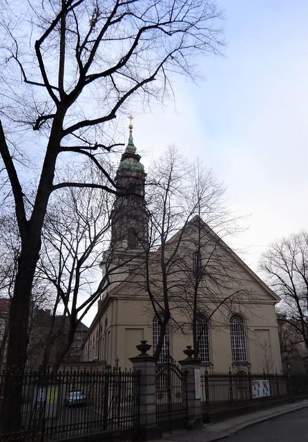 1712/13 Berlin barocke evangelische Sophienkirche zugemutet Philipp Gerlach Große Hamburger Straße 29-31 in 10115 Spandauer Vorstadt