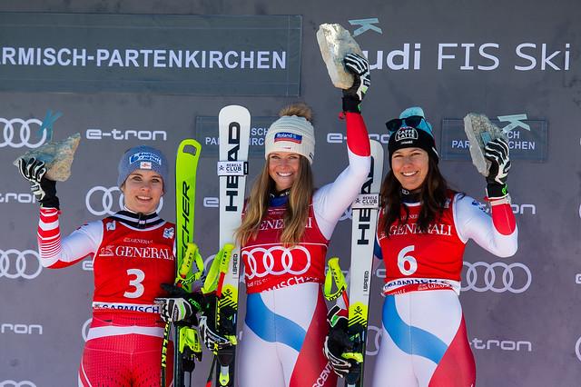 20200209 AUDI FIS SKI WORLD CUP 2019/20 Womans Downhill - Garmisch Partenkirchen