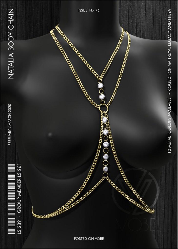 """VOBE for FaMESHedX - """"Natalia"""" Body chain"""