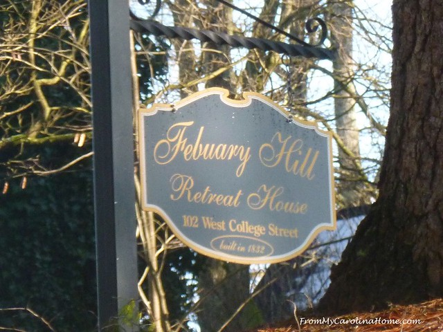 February Hill Quilt Retreat at FromMyCarolinaHome.com