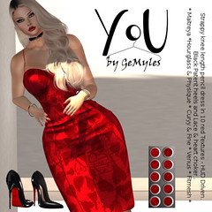 YoU by GeMyles - Harriettie Dress and Shoes