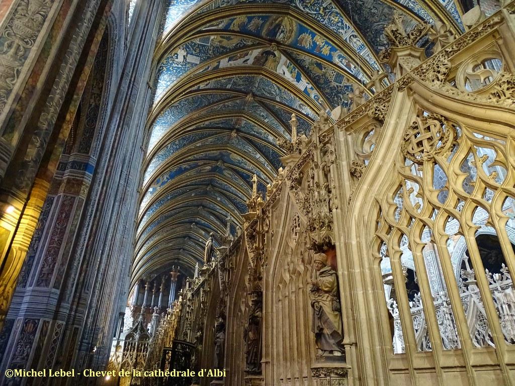 Albi - Chevet de la Cathédrale Sainte Cécile