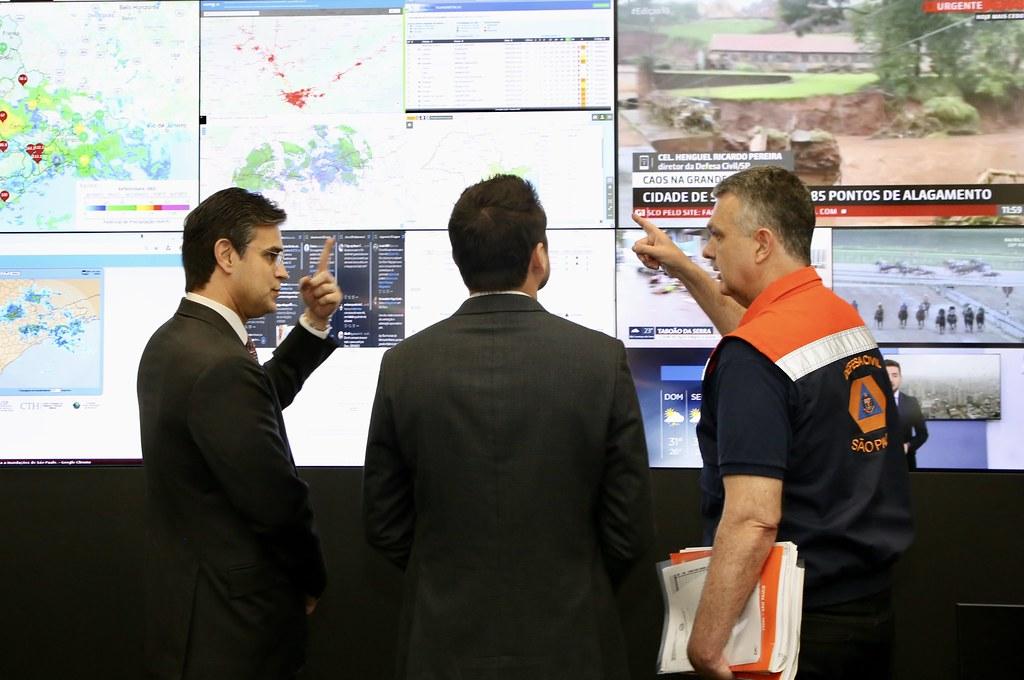 Visita técnica ao Centro da Defesa Civil