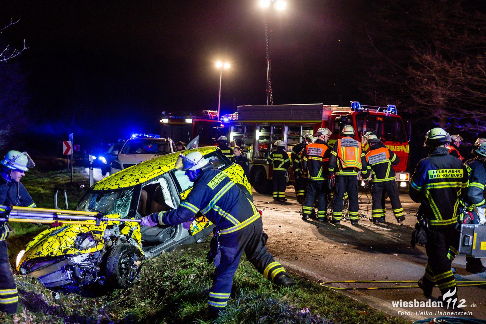 Tödlicher Verkehrsunfall Saalburg 09.02.2020