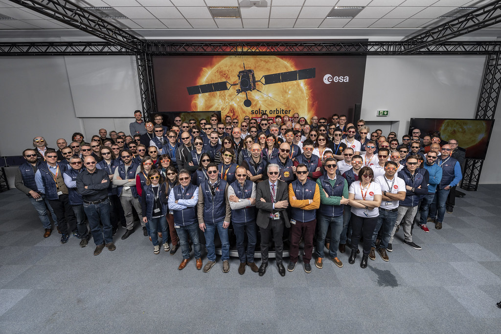 Check out Highlights from the #SolarOrbiter launch here at ESOC #missioncontrol
