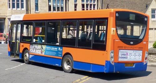 MH07 HTC 'Centrebus' No. 548. Alexander Dennis Ltd. (ADL) Enviro 200 / 'ADL' Enviro 200 /2 on Dennis Basford's railsroadsrunways.blogspot.co.uk'