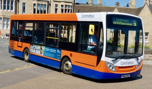MH07 HTC 'Centrebus' No. 548. Alexander Dennis Ltd. (ADL) Enviro 200 / 'ADL' Enviro 200 /1 on Dennis Basford's railsroadsrunways.blogspot.co.uk'