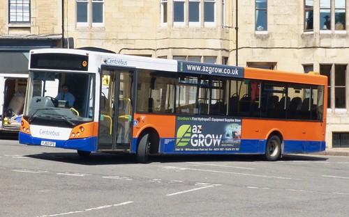YJ60 GFE 'Centrebus' No. 660. VDL SB180 / MCV Evolution on Dennis Basford's railsroadsrunways.blogspot.co.uk'