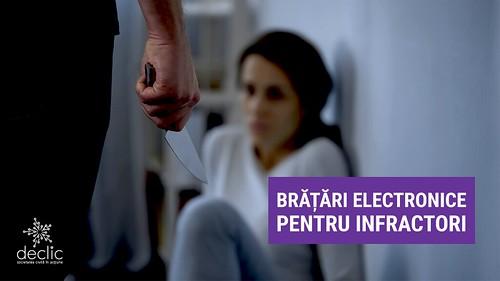 Brățări electronice pentru infractori