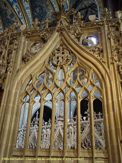Albi - Chevet de la Cathédrale Sainte Cécile (détail)