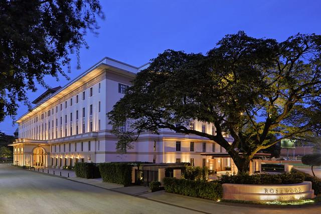 Rosewood Yangon - Building Exterior Bank Street